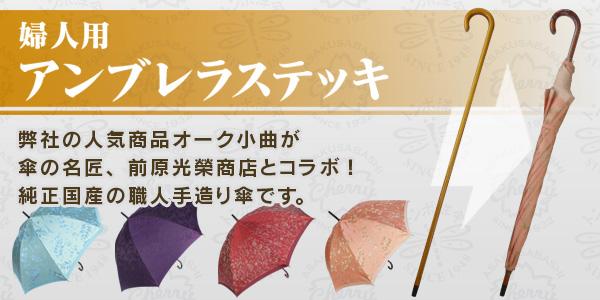 レディースアンブレラステッキ杖傘